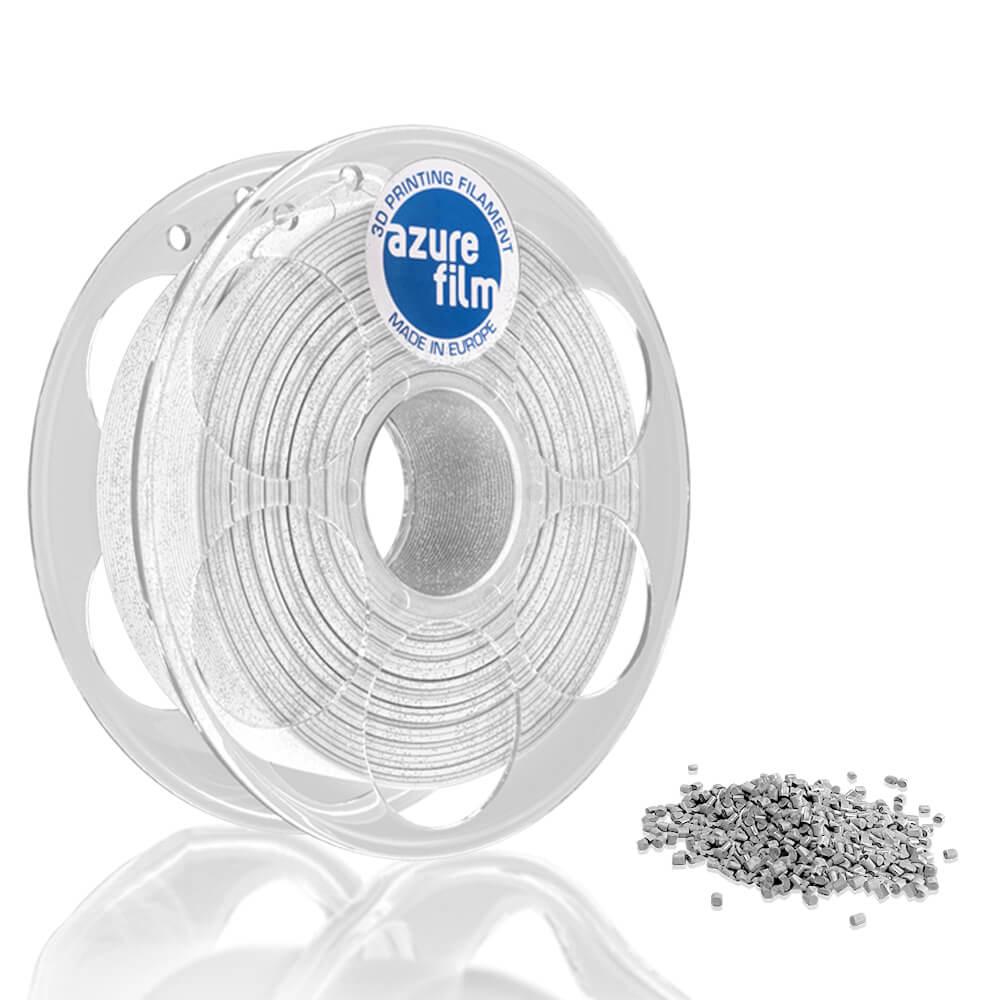 AzureFilm PLA Filament 1.75mm - 1kg - Wit Glitter