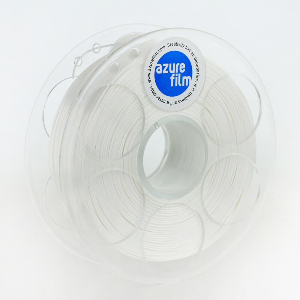 AzureFilm Silk Filament 1.75mm - 1kg - Wit