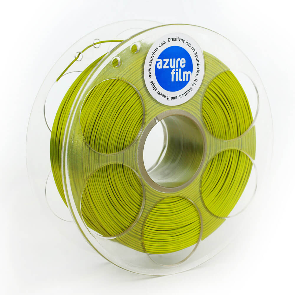 AzureFilm Silk Filament 1.75mm - 1kg - Jungle Goud