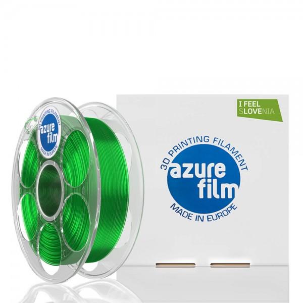 AzureFilm PETG Filament 1.75mm - 1kg - Green Transparent