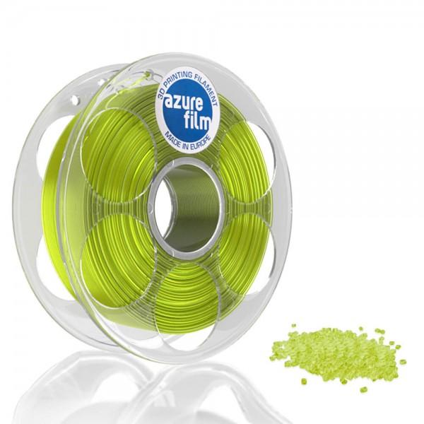 AzureFilm PETG Filament 1.75mm - 1kg - Yellow Transparent