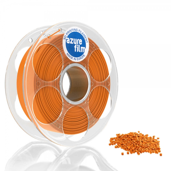 AzureFilm PETG Filament 1.75mm - 1kg - Oranje