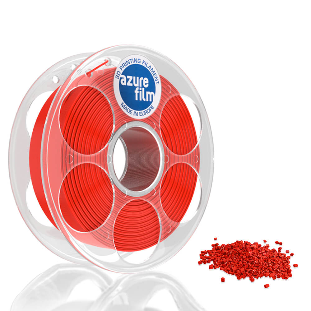 AzureFilm PETG Filament 1.75mm - 1kg - Red