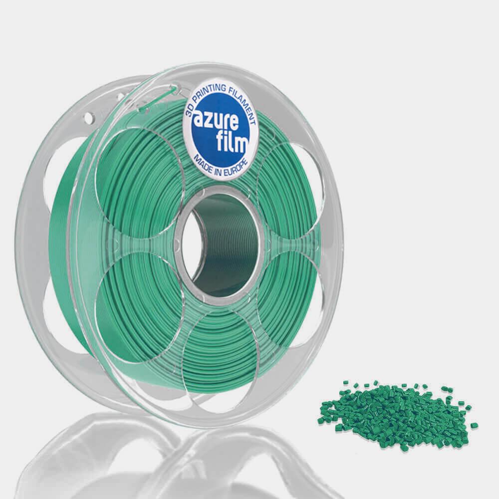 AzureFilm PETG Filament 1.75mm - 1kg - Turquoise Blauw