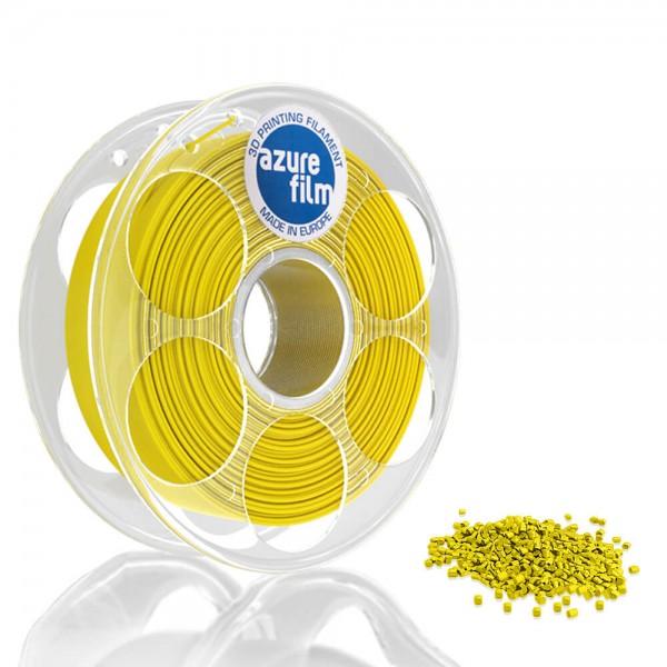 AzureFilm PETG Filament 1.75mm - 1kg - Geel
