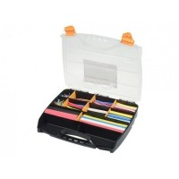 Heat Shrink Tubing Kit in Box - Coloured - 505 Pieces