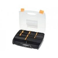 Heat Shrink Tubing Kit in Box - Black - 505 Pieces