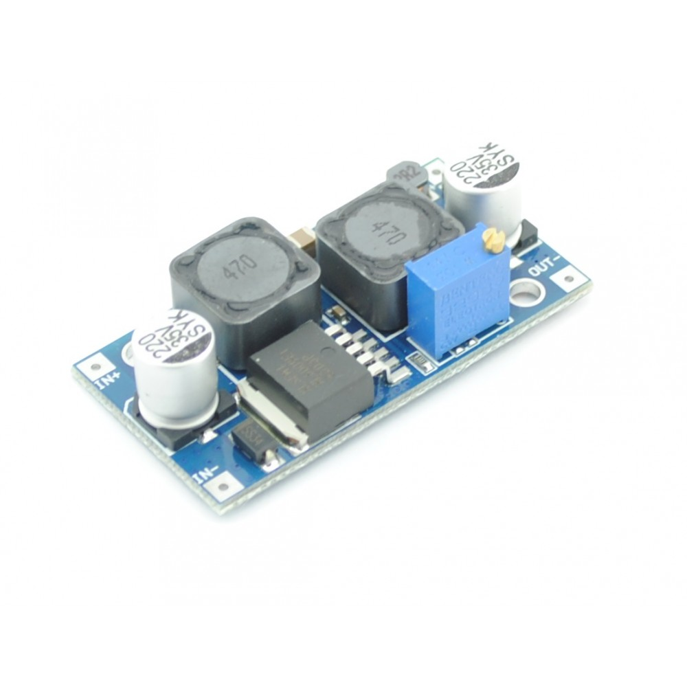 Dc Adjustable Step Up Down Buck Boost Converter Xl6009 4a Switching Voltage Regulator Circuit Or Booster Converters