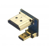 HDMI to Micro HDMI Adapter for Displays - Raspberry Pi 4B