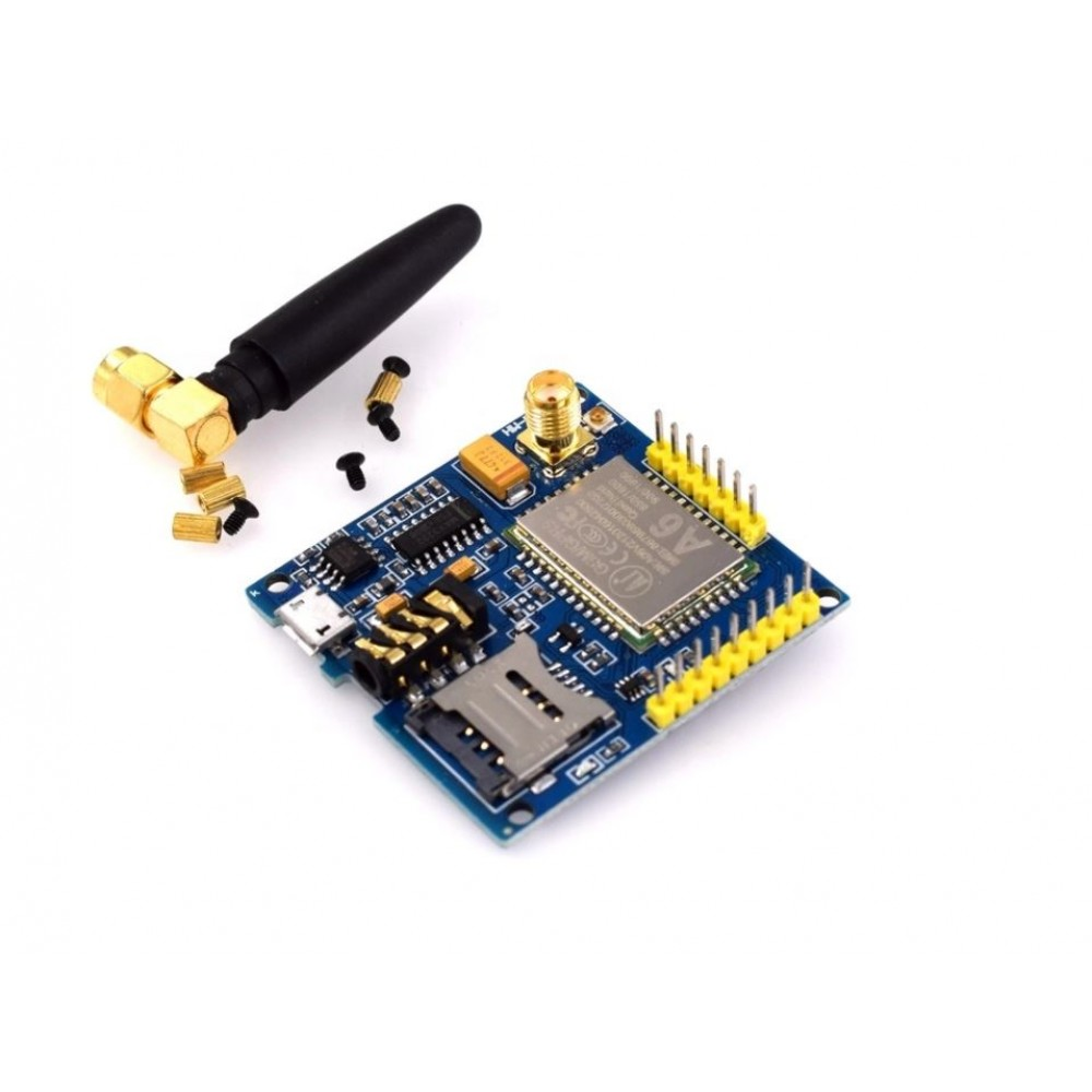 A6 GSM GPRS Module with Antenna