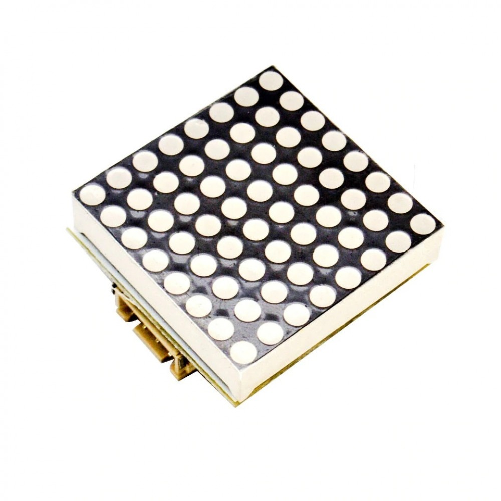 8x8 LED Matrix - I2C Communicatie - Rood