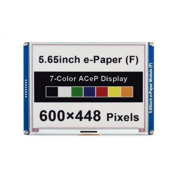 Waveshare 5.65 inch SPI E-Ink E-Paper Display (F) - 7 Colors
