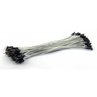 DuPont Jumper wire Male-Male 20cm 100 wires - White