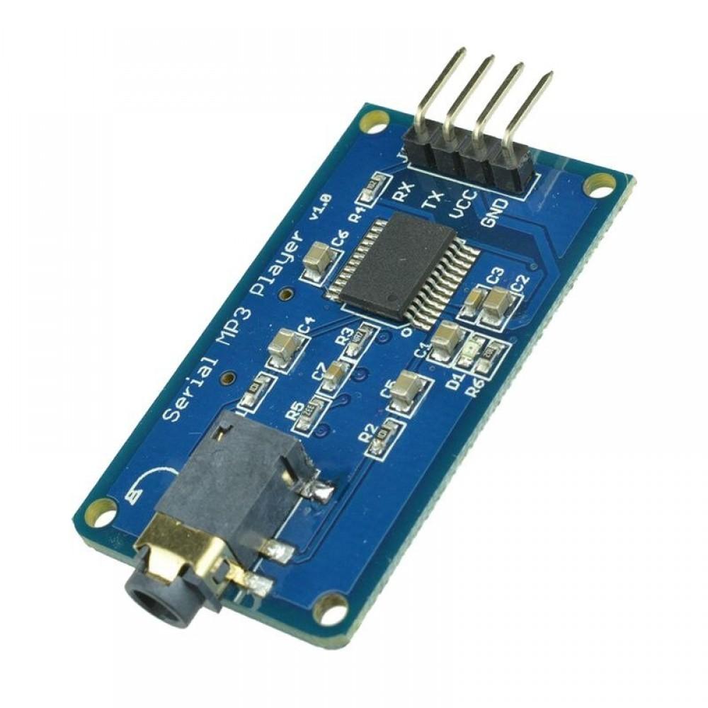 Mini MP3 Module YX5300 met Audio Jack