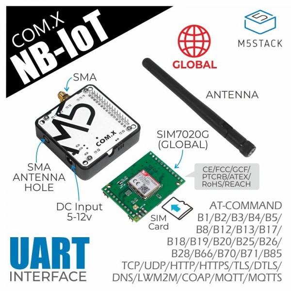 M5STACK COM NB-IoT Module - SIM7020G - voor M5Core