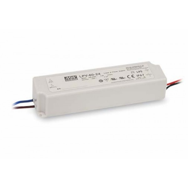 Mean Well Voeding - 5V 8A - Switching Power Supply - LPV-60-5