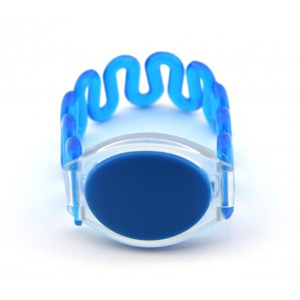 RFID Polsband - TK4100 125kHz - Elastisch - Blauw