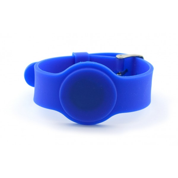RFID Polsband - TK4100 125kHz - Gespsluiting - Blauw