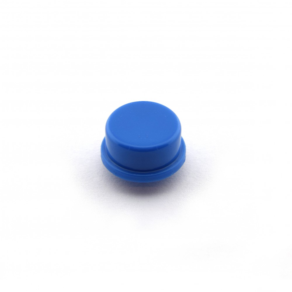Knopkapje voor Tactile Pushbutton Switch Momentary - 12x12x7.3mm - Blauw