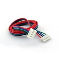Kabel voor Stappenmotor - JST-XH 4p naar JST-PH 6p Compatible - 60cm