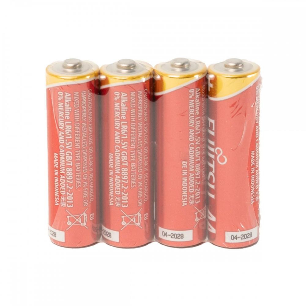 Fujitsu Alkaline High Power 4x AA Batterij