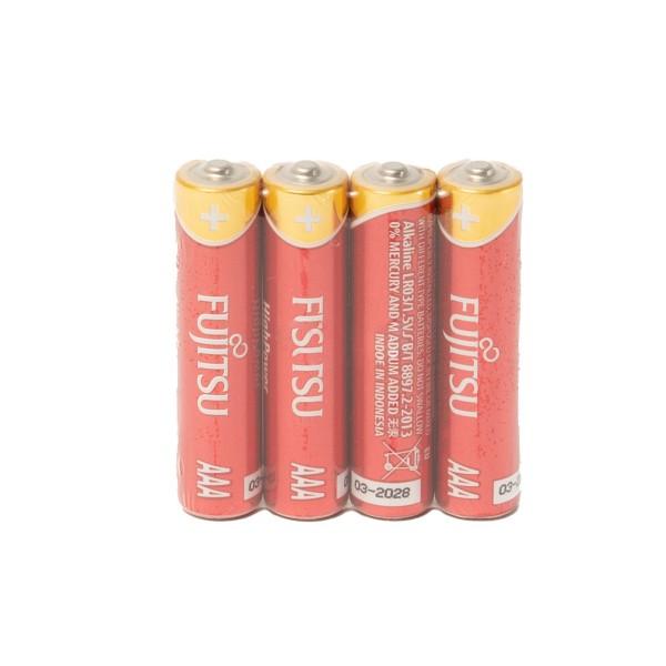 Fujitsu Alkaline High Power 4x AAA Battery
