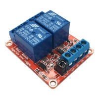 5V Relay 2-Channel High-active or Low-active