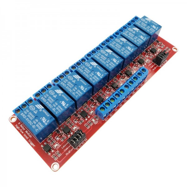 5V Relay 8-Channel High-active or Low-active