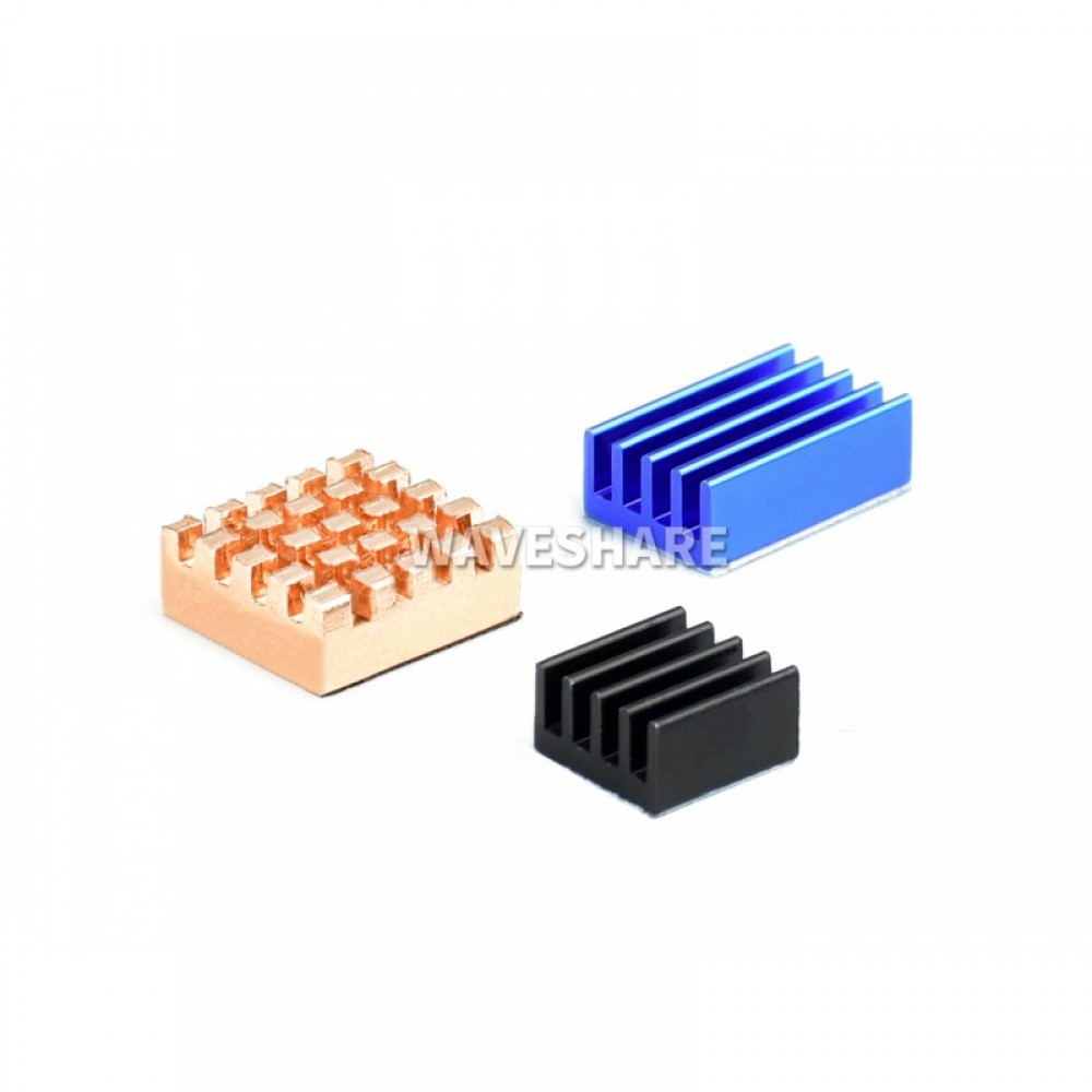Raspberry Pi Heatsink Kit - Colored