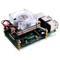 52Pi ICE Tower CPU Cooling Fan - Low Profile - voor Raspberry Pi