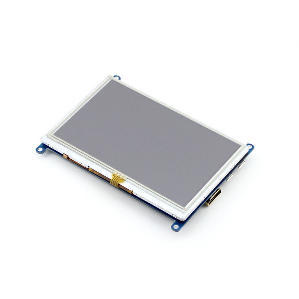 Waveshare 5 inch HDMI TFT-LCD (B) Display 800*480 pixels with Touchscreen - Raspberry Pi Compatible