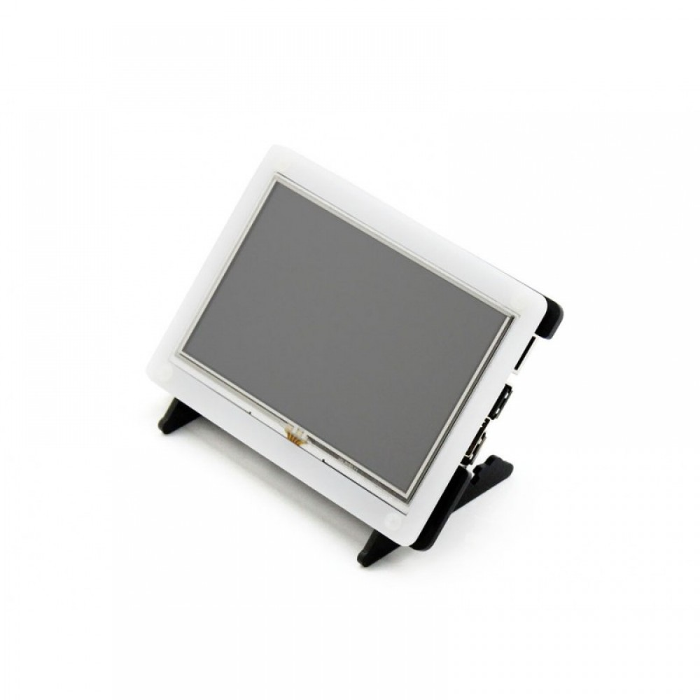 Waveshare 5 inch HDMI TFT-LCD (B) Display 800*480 pixels with Touchscreen and Case - Raspberry Pi Compatible