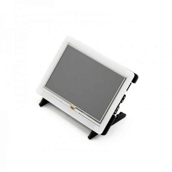 Waveshare 5 inch HDMI TFT-LCD (B) Display 800*480 pixels met Touchscreen en Behuizing - Raspberry Pi Compatible