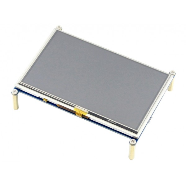Waveshare 5 inch HDMI TFT-LCD Display 800*480 pixels met Touchscreen - Raspberry Pi Compatible