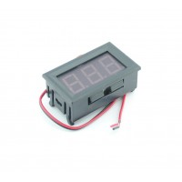 Voltage Meter with Segment Display - Red