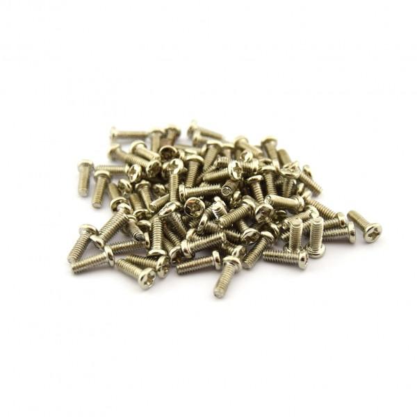 M2 Bolt - 5mm thread - 100 bolts