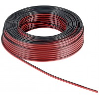 Speaker Cable - Red-Black - 0.75mm² - 25m