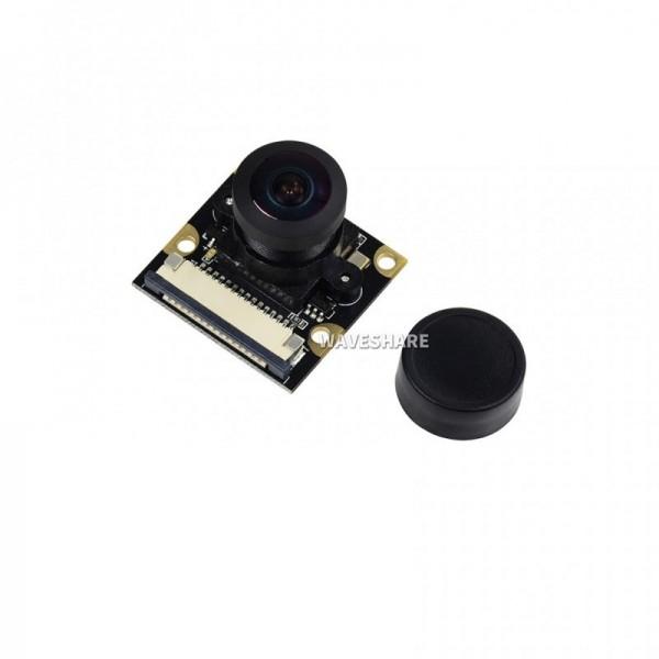 Waveshare Raspberry Pi Compatible Camera (G) - 5MP - Fisheye Lens