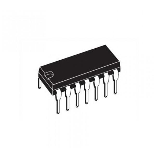SN74AHCT125N 4-channel Level Converter - 3.3V to 5V - 14-pin DIP