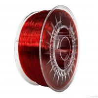 Devil Design PMMA Filament 1.75mm - 1kg - Ruby Red Transparent