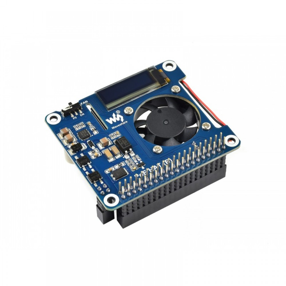 Waveshare Power over Ethernet HAT (B) - for Raspberry Pi