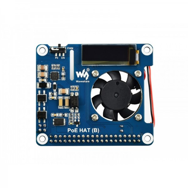 Waveshare Power over Ethernet HAT (B) - for Raspberry Pi