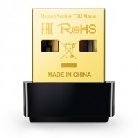TP-Link AC600 Archer T2U Nano - Draadloze Dual-Band USB-Adapter