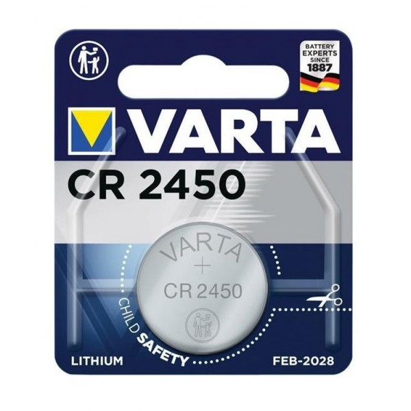Varta CR2450 3V Lithium Battery