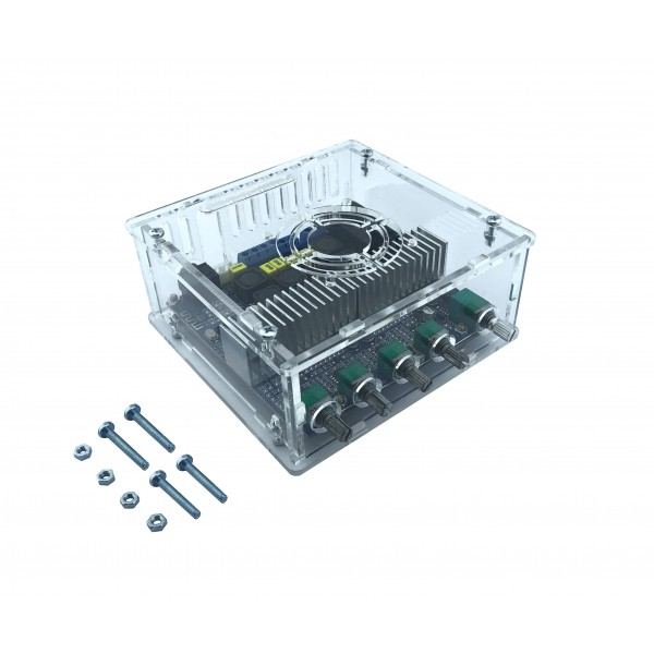 Case for TPA3116 2x50W and 1x100W Audio Amplifier - Bass-Treble Control