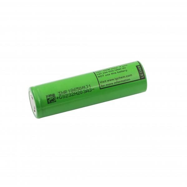 LG 18650 Li-ion Battery - 3400mAh - 10A - INR18650 MJ1