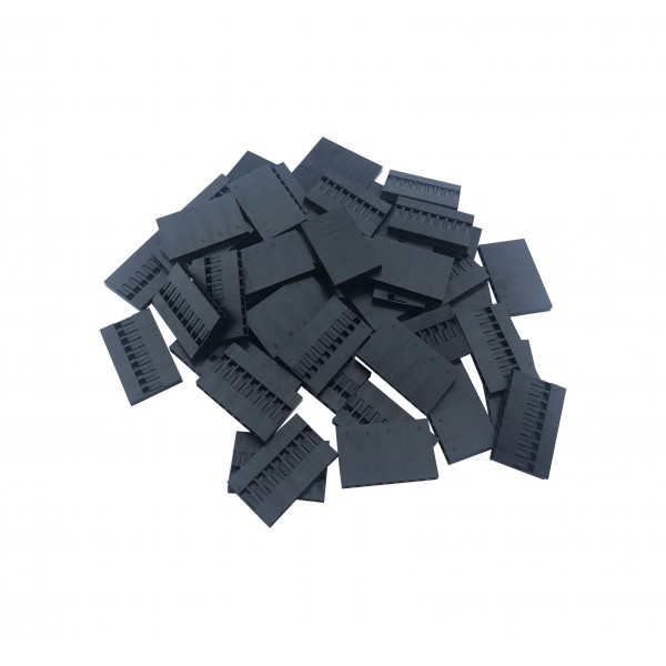 Dupont Plastic Behuizing - 9P - 1000 stuks