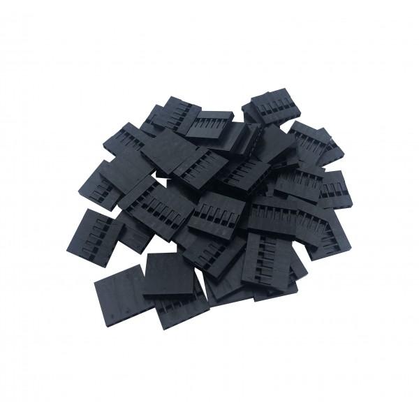 Dupont Plastic Behuizing - 6P - 1000 stuks