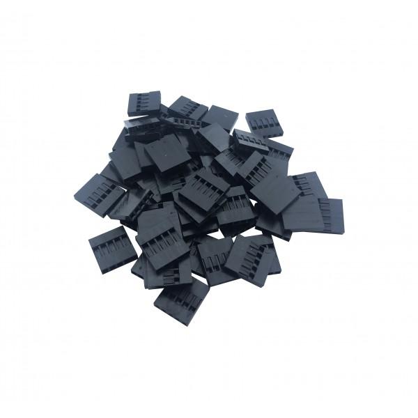 Dupont Plastic Behuizing - 5P - 1000 stuks