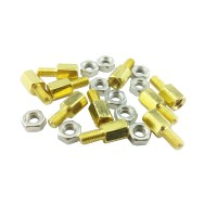 M3 Spacer - 6mm height - 6mm thread hight
